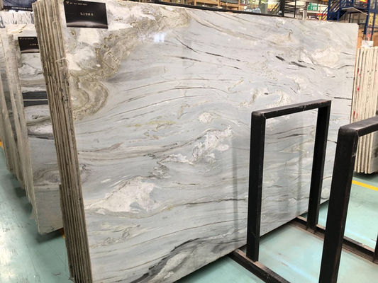 Italy Cipollino Ellas 18mm light green base with beautiful veins for tile tops