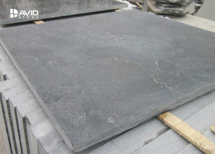 Grey Natural Limestone Tiles For Kitchen / Bathroom Floor Sound Insulation